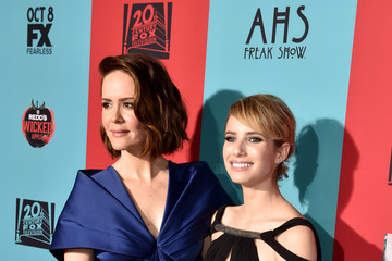 Emma Roberts 'American Horror Story: Freak Show' Screening — Part 2