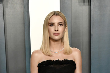 Emma Roberts 2020 Vanity Fair Oscar Party Hosted By Radhika Jones - Arrivals