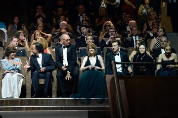 Emma Stone Inside the Venice Film Festival's Opening Ceremony