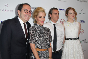 Emma Stone Celebrities Attend the Premiere of Sony Pictures Classics' 'Irrational Man'