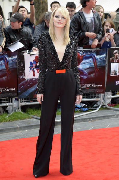 Emma Stone - The Amazing Spider-Man - UK Premiere