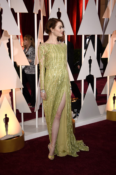 Emma Stone - Arrivals at the 87th Annual Academy Awards — Part 3