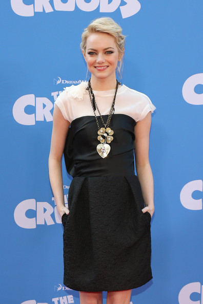 "Emma Stone - ""The Croods"" New York Premiere"