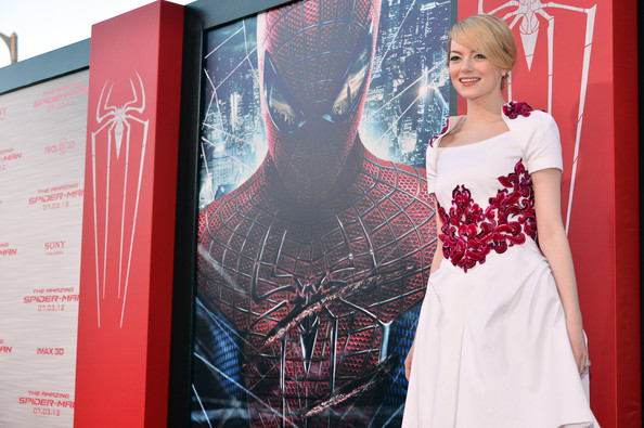 "Emma Stone - Premiere Of Columbia Pictures' ""The Amazing Spider-Man"" - Red Carpet"