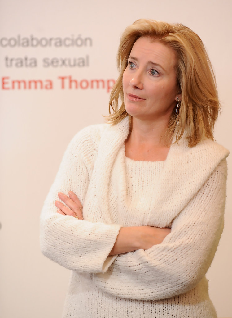 Emma Thompson Attends 'The Journey' Exhibition in Madrid ... Emma Thompson