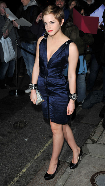 Emma Watson - Finch And Partners' Pre-BAFTA Party - Arrivals