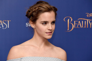 Emma Watson Disney's 'Beauty and the Beast' - UK Launch Event at Odeon Leicester Square