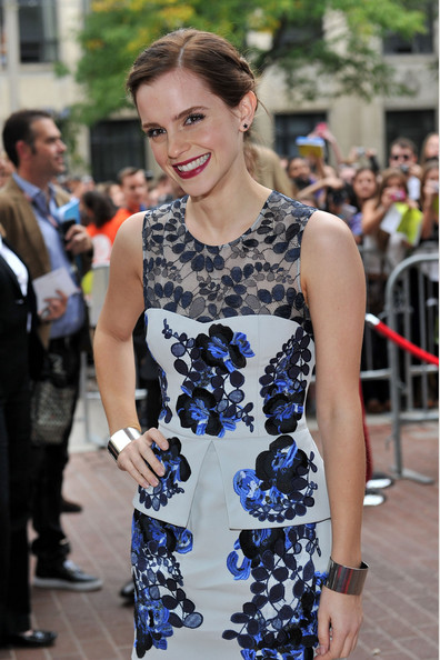 "Emma Watson - ""The Perks Of Being A Wallflower"" Premiere - 2012 Toronto International Film Festival"