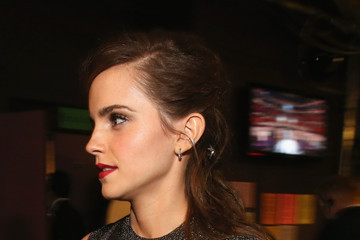 Emma Watson Backstage at the 86th Annual Academy Awards