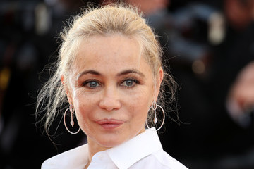 Emmanuelle Beart 70th Anniversary Red Carpet Arrivals - The 70th Annual Cannes Film Festival