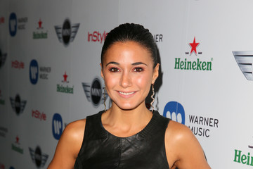 Emmanuelle Chriqui Warner Music Group 2013 Grammy Celebration Presented By Mini