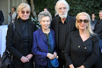 Emmanuelle Riva The Consul General Of France, Mr. Axel Cruau, Honors The French Nominees For The 85th Annual Academy Awards