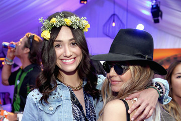 Emmy Rossum Samsung Galaxy At Coachella Valley Music And Arts Festival 2014