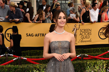 Emmy Rossum 21st Annual Screen Actors Guild Awards - Arrivals