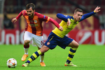 Emre Colak Galatasaray AS v Arsenal FC
