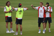 Andrew Flintoff and Monty Panesar Photos Photo