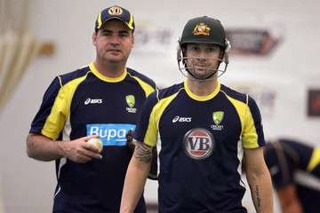 Micky Arthur England And Australia Nets Session