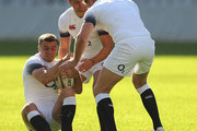 Ben Youngs and George Ford Photos Photo