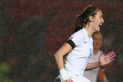 Jill Scott of England celebrates after scoring the only goal of the game during the UEFA Women's Euro 2017 Qualifier match between England and Bosnia and Herzegovina at Ashton Gate on November 29, 2015 in Bristol, England.