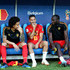 Axel Witsel Kevin De Bruyne Photos - Belgium substitutes Axel Witsel, Eden Hazard, Romelu Lukaku and Kevin De Bruyne look on prior to the 2018 FIFA World Cup Russia group G match between England and Belgium at Kaliningrad Stadium on June 28, 2018 in Kaliningrad, Russia. - England vs. Belgium: Group G - 2018 FIFA World Cup Russia