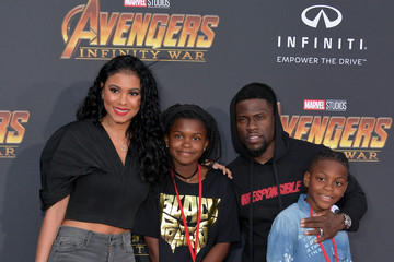 Eniko Parrish Premiere Of Disney And Marvel's 'Avengers: Infinity War' - Arrivals