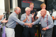Sir Stirling Moss and Helmut Zwickl Photos Photo