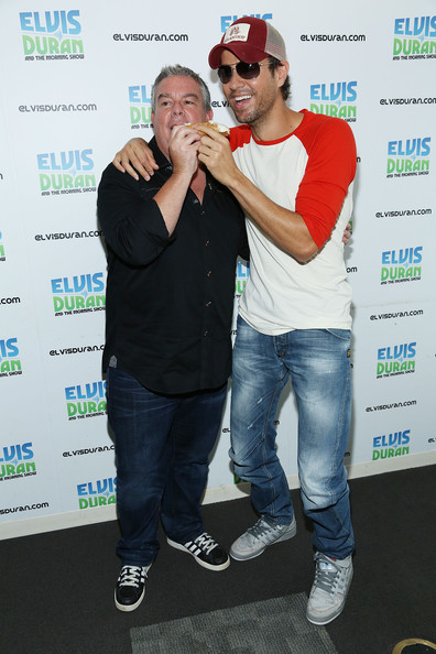 "Enrique Iglesias Visits ""The Elvis Duran Z100 Morning Show"""