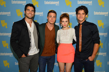 Tyler Hoechlin Holland Roden Entertainment Weekly's 6th Annual Comic-Con Celebration Sponsored By Just Dance 4