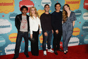 (L-R) Actors Naveen Andrews, Emma Rigby, Michael Socha, Peter Gadiot and Sophie Lowe attend Entertainment Weekly's Annual Comic-Con Celebration at Float at Hard Rock Hotel San Diego on July 20, 2013 in San Diego, California.
