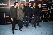 (L-R) Actors Niko Nicotera, Mark Boone Junior, David Labrava, Tommy Flanagan, Kim Coates and Theo Rossi attend Entertainment Weekly's Annual Comic-Con Celebration at Float at Hard Rock Hotel San Diego on July 26, 2014 in San Diego, California.