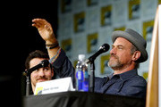 """Actor Christopher Meloni speaks on stage during Entertainment Weekly's """"Brave New Warriors"""" Panel at San Diego Comic-Con 2017 at San Diego Convention Center on July 21, 2017 in San Diego, California."""