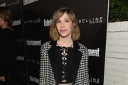 Actress Carrie Brownstein attends Entertainment Weekly Celebration Honoring The Screen Actors Guild Awards Nominees presented by Maybelline at Chateau Marmont In Los Angeles on January 29, 2016 in Los Angeles, California.