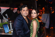 (L-R) Harvey Guillen and Aimee Carrero attend Entertainment Weekly's Comic-Con Bash held at FLOAT, Hard Rock Hotel San Diego on July 20, 2019 in San Diego, California sponsored by HBO.