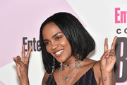 China Anne McClain attends Entertainment Weekly's Comic-Con Bash held at FLOAT, Hard Rock Hotel San Diego on July 21, 2018 in San Diego, California sponsored by HBO