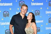 Alexander Ludwig and Kristy Dawn Dinsmore attend Entertainment Weekly's Comic-Con Bash held at FLOAT, Hard Rock Hotel San Diego on July 20, 2019 in San Diego, California sponsored by HBO.