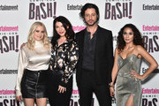 (L-R) Olivia Taylor Dudley, Sera Gamble, Hale Appleman, and Summer Bishil attend Entertainment Weekly's Comic-Con Bash held at FLOAT, Hard Rock Hotel San Diego on July 21, 2018 in San Diego, California sponsored by HBO
