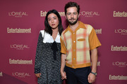 (L-R) Maya Erskine and  Michael Angarano attend the 2019 Pre-Emmy Party hosted by Entertainment Weekly and L'Oreal Paris at Sunset Tower Hotel in Los Angeles on Friday, September 20, 2019.
