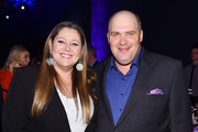 Camryn Manheim and Glenn Fleshler attend the Entertainment Weekly & PEOPLE New York Upfronts Party on May 13, 2019 in New York City.