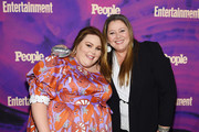 Chrissy Metz and Camryn Manheim attend the Entertainment Weekly & PEOPLE New York Upfronts Party on May 13, 2019 in New York City.