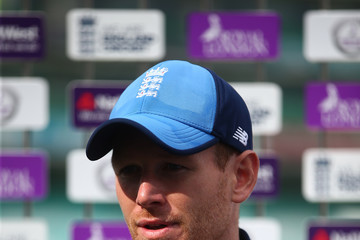 Eoin Morgan England & West Indies Nets Session