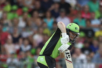 Eoin Morgan Big Bash League - Thunder v Sixers