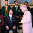 Eoin Morgan ICC Cricket World Cup Team Captains Meet Queen Elizabeth II At Buckingham Palace