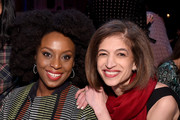 Chimamanda Ngozi Adichie and Yasmeen Hassan attend the annual Make Equality Reality Gala hosted by Equality Now on November 19, 2019 in New York City.