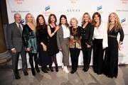 (L-R) Dan Kelly, Chandra Jessee, Sue Smalley, Paula Ravets, Margaret Atwood Yasmeen Hassan, Angelica Fuentes, Lara Stein and Simone Lahorgue attend the annual Make Equality Reality Gala hosted by Equality Now on November 19, 2019 in New York City.