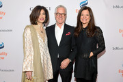 (L-R) Equality Now Global Executive Director Yasmeen Hassan, Kevin Wall, and Susan Smalley attend Equality Now's Make Equality Reality Gala 2018 at The Beverly Hilton Hotel on December 3, 2018 in Beverly Hills, California.