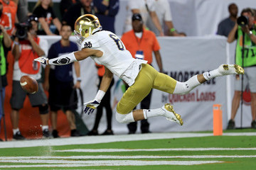 Equanimeous St. Brown Notre Dame v Miami