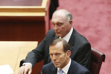 Eric Abetz 44th Parliament Opens in Canberra