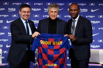 Eric Abidal Quique Setien European Best Pictures Of The Day - January 14