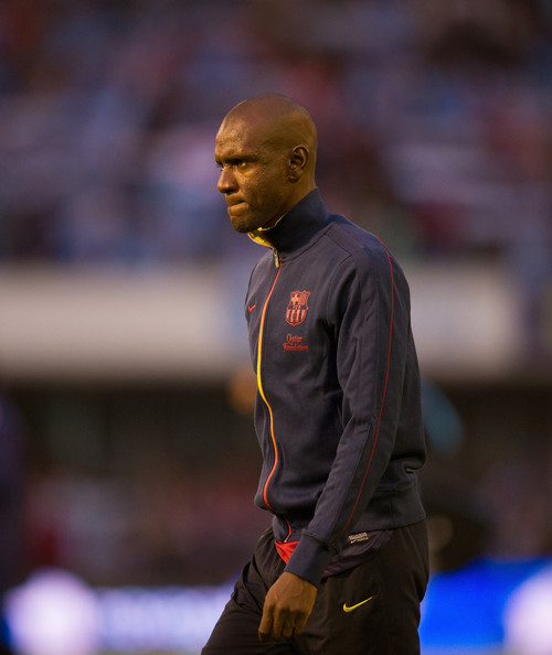 Celta Vigo Vs Barcelona Direct: Eric Abidal Photos Photos