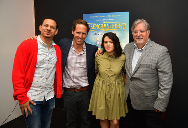 Adult Animation Q&A And Reception [netflix adult animation,event,community,adaptation,employment,award,team,tourism,eric andre,abbi jacobson,matt groening,nat faxon,adult animation q a,q a,california,hollywood,reception]